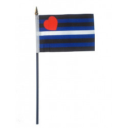 Leather Hand Flag / Handflagge (T1573)