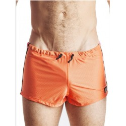 GB2 Jens Athletic Mesh Shorts Orange/Red (T2157)
