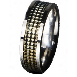 Andrew Christian Ambition Ring Stainless Steel (T2471)