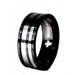 Andrew Christian Degree Ring Black (T2868)