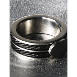 Andrew Christian Bond Ring Stainless Steel (T2869)