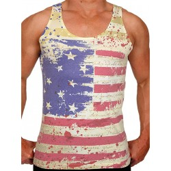 Pistol Pete Liberty Tank Top Multi (T4322)