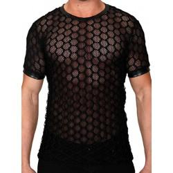 Pistol Pete Cubic Short Sleeve Tee T-Shirt Black (T4327)