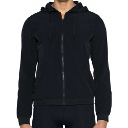 2Eros BLK Aktiv Windbreaker Jacket Black (T4199)