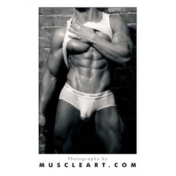 Male Ripped Form Poster (M8505)