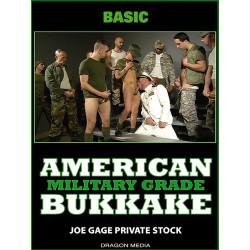 American Bukkake - Military Grade DVD