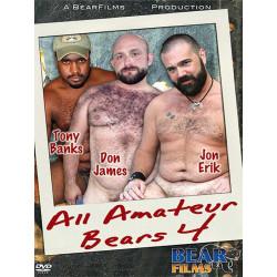 All Amateur Bears #4 DVD