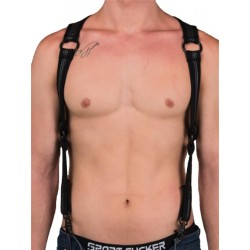 665 Neoprene Heckler Harness Black/Black (T5171)