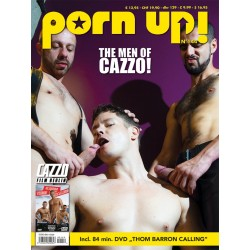 PornUp 144 Magazine + Cazzo Thom Barron Calling DVD (M0244)