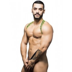 Andrew Christian FUKR C-Ring Harness Black/Yellow (T5514)