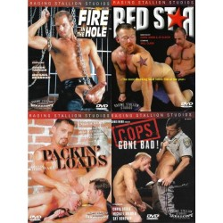 Raging Stallion 3 4-DVD-Pack
