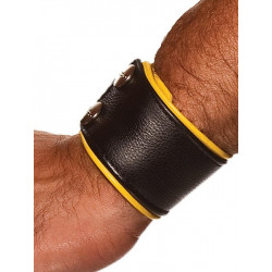Colt Leather Wrist Wallet Yellow