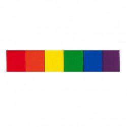 Rainbow Aufkleber / Sticker 1,9 x 9,5cm / 0.7 x 3.7 inch