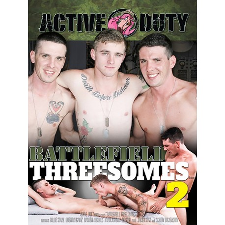 Battlefield Threesomes #2 DVD (16126D)