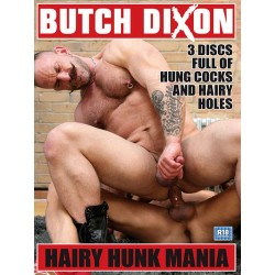 Hairy Hunk Mania 3-DVD-Set