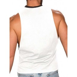 COLT Tank Top Butcher Tank White (T2829)