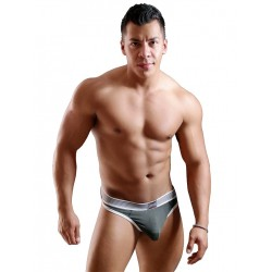GBGB Carter Strapless Flyer Underwear Charcoal