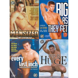 Matt Sterling Size Matters 4-DVD-Set (16602D)