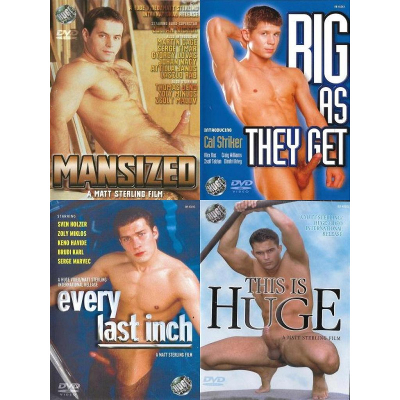 Matt Sterling Size Matters 4-DVD-Set (16602D)