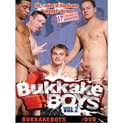 Bukkake Boys #2 DVD