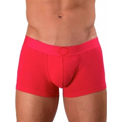 Rounderbum Colors Padded Boxer Trunk Underwear Red (T5960)