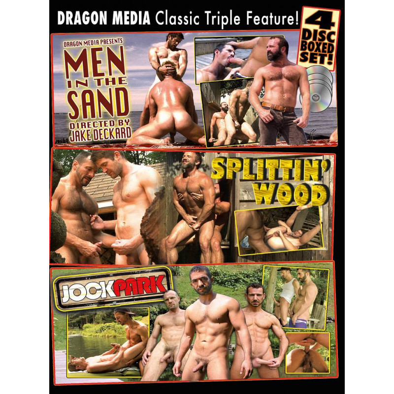 Dragon Media Classic Triple Feature 4-DVD-Set (16792D)