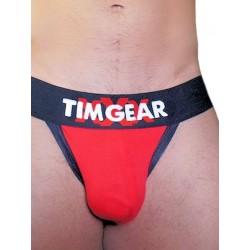 TIM Gear XXX Jockstrap Underwear Red