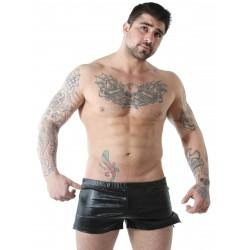 GBGB Wade Shiny Shorts Metallic Black