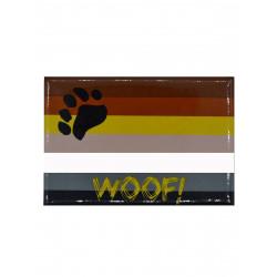 Woof! - Bear Flag Magnet (T5123)