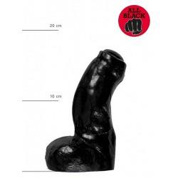 All Black Dildo 17 x 4,8 cm (T6231)