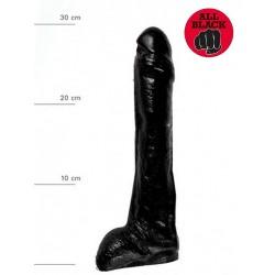 All Black Dildo 26,5 x 4,5 cm (T6239)