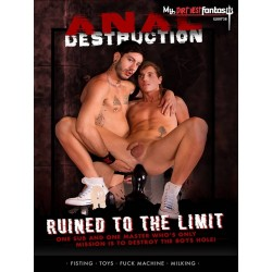 Anal Destruction: Ruined to the Limit DVD (17275D)