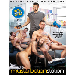 Masturbation Station DVD (Raging Stallion) (17333D)