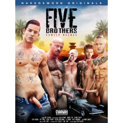 Five Brothers: Family Values DVD (Naked Sword)