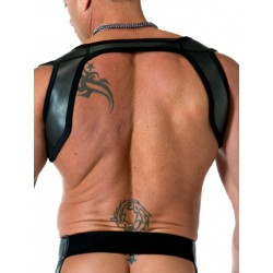 665 Neoprene Slingshot Harness Black/Black (T3315)