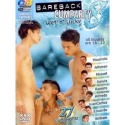 Bareback Cumparty #8 - Wet `N` Sticky DVD (OTB) (03922D)