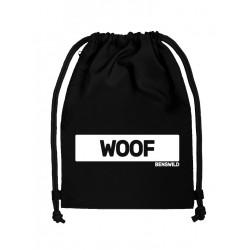 BenSWild BigBag `Woof` Black/White (T7155)