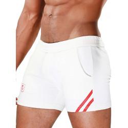 TOF Paris Shorts White/Red