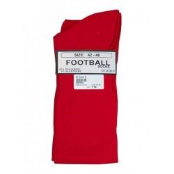 MisterB Football Socks Red (T6955)