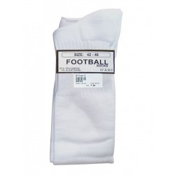 MisterB Football Socks White (T6953)