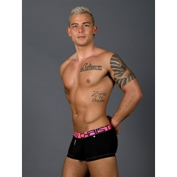 Andrew Christian Fly Tagless Boxer w/ Almost Naked Underwear Black