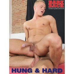 Hung & Hard DVD (Bareback Headquarters) (18313D)