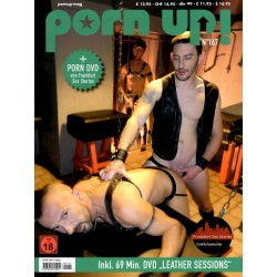 PornUp 167 Magazine + Leather Sessions DVD (M0267)