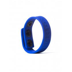 RudeRider Silicone Cock Strap Blue (T6612)