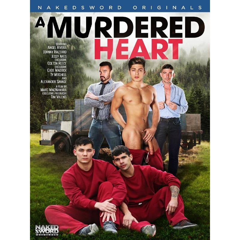 A Murdered Heart DVD (Naked Sword) (18580D)