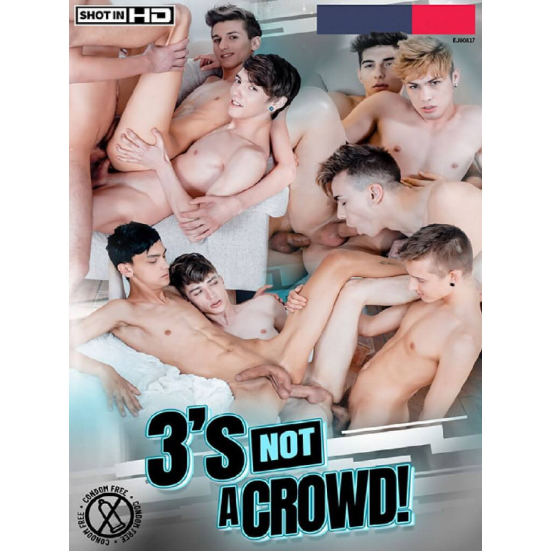 3`s Not A Crowd! DVD (Staxus) (18637D)
