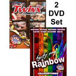 Twinx & Taste My Rainbow 2-DVD-Set (Gay Life Network) (18902D)