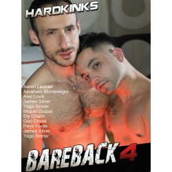 Hard Kinks Bareback #4 DVD (Hard Kinks) (18752D)