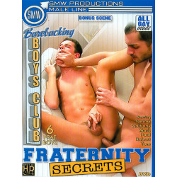 Barebacking Boys Club: Fraternity Secrets DVD (SMW Productions) (19076D)