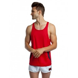 jackadams Relay Proformance Tank Top Red/Black (T3608)